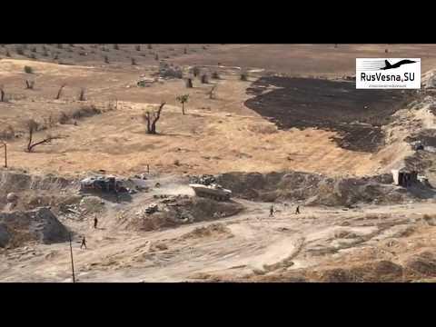 Бои в Ярмуке: ВКС РФ и Армия Сирии атакуют ИГИЛ под Дамаском