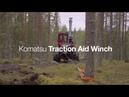 Komatsu Traction Aid Winch Harvester