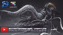 Extraterrestrial Creature - High-speed video drawing process in PS