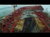 Лахта Центр гонки на дронах FPV drone racing