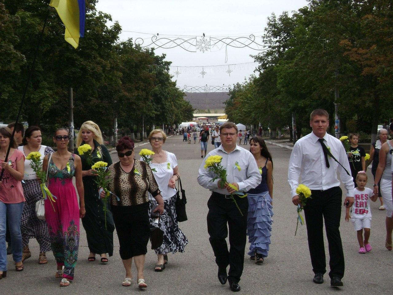 Активисты Объединённой Оппозиции в День Независимости почтили память Тараса Шевченко