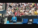 This is the greatest thing I've seen at the AusOpen ! - - Two old ladies fighting over Ary