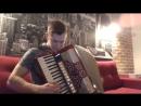 Enrike Iglesias - Bailando (cover) Accordion solo заедание клавиши