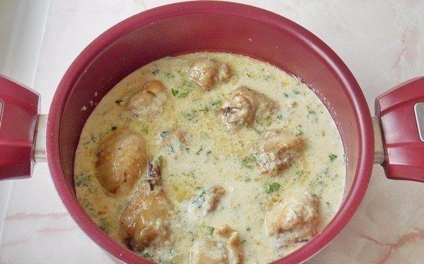 Аппетитное блюдо с восточной кухни