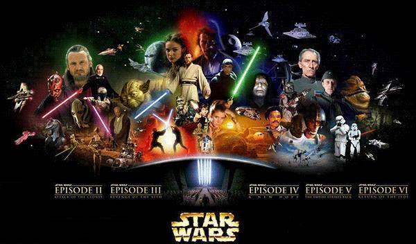 Звёздные войны (все части).