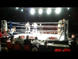 Kyokushin Fighter Sergej Braun Apache Fight Night