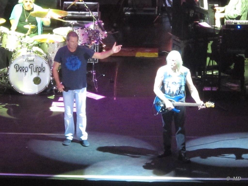 Deep Purple концерт в Москве