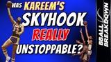Was KAREEM'S Skyhook REALLY Unstoppable