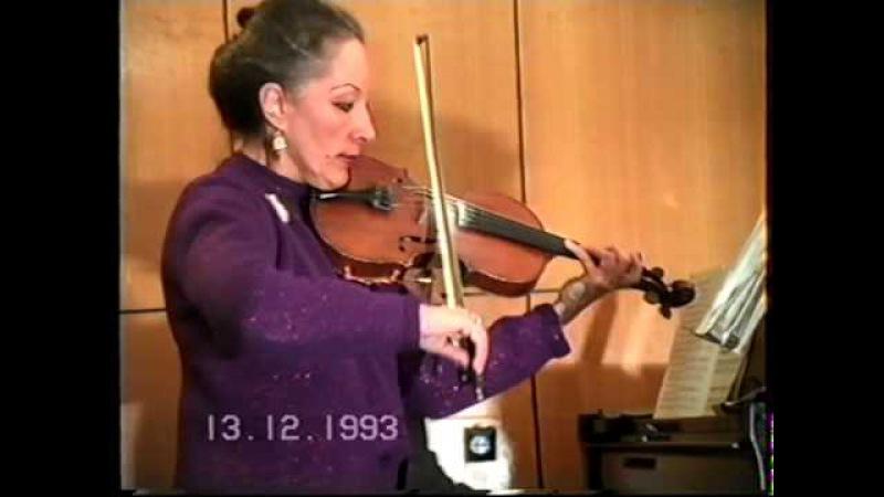 V.Monti - Chardash - Leonarda Brushtein vioin