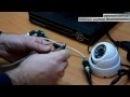 Подключение видеокамер к комплекту видеонаблюдения 4х жильный кабель