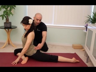 Yin Yoga Pigeon Pose | vk.com/yogadn