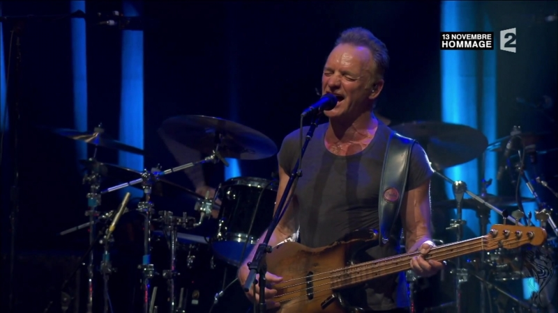 STING. Walking on the Moon.