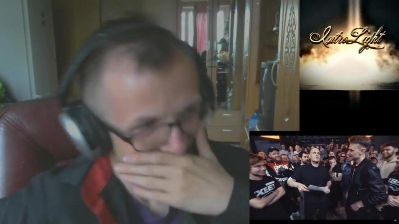 [IntroLight] РЕАКЦИЯ ФЛЕГМАТИКА DEEP-EX-SENSE VS PLANE DEAD (18 TOURNAMENT 2, RUSSIAN BATTLE LEAGUE)