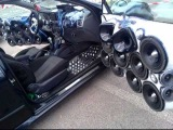 The Snake Car Fiat bravo Ground Zero Tremendous bass Subwoofer car audio loud