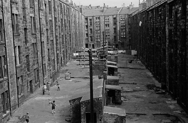 Серия фотографий Глазго, Шотландия, 1970-е.