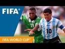 World Cup Highlights: Argentina - Nigeria, USA 1994