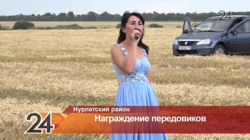 В Нурлатском районе наградили лучших сельхоз работников