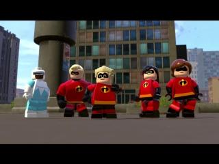 LEGO The Incredibles - Геймплейный трейлер