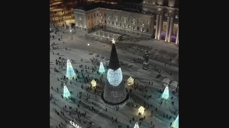 Праздничная площадь Куйбышева