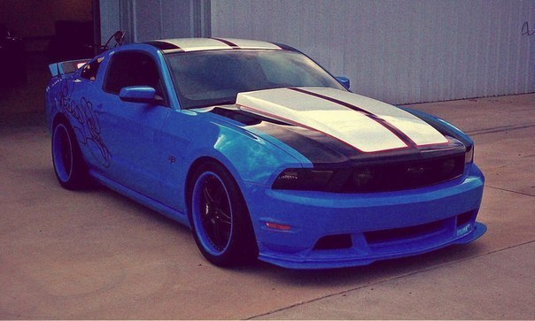 2012' Ford Mustang Signature Series by Petty's Garage