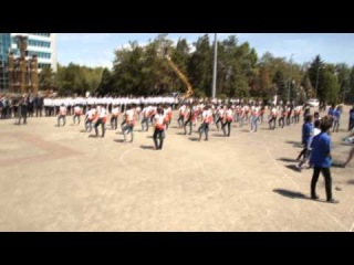 Flash Mob | Taldykorgan | 2014 | тема: Антикоррупция