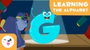 Learn the letter G with Gorilla Gus - Educational video to learn the consonants - Phonics For Kids