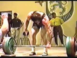 Giovanni brunazzi 793.7lb@179lb deadlift world record