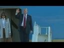 Ааэропорт Хельсинки Прибытие Трампа на стрелку с Путиным