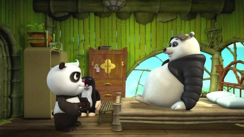 Мультики - Кротик и Панда - Сборник - Все серии мультфильма для детей, малышей