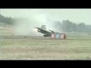 Крушение Saab JAS 39 Gripen при посадке