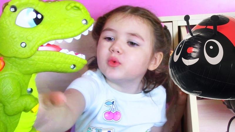 Динозавр Плей До 🦖 Распаковка Игрушек для Детей Pley Doh Dino лепим из пластилина