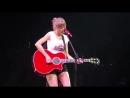 Taylor Swift - Sad Beautiful Tragic (Acoustic) (Live at The Red Tour, Nashville)
