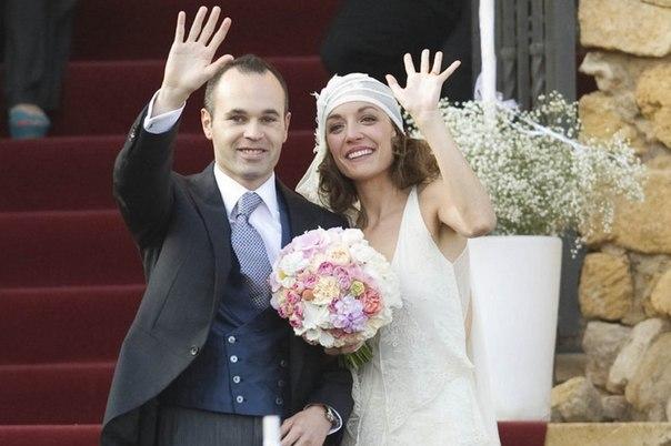 Иньеста: благодарю всех за присутствие на моей свадьбе