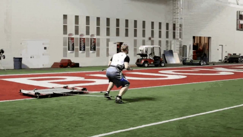 Explosive Power Speed Drills with NFL Linebacker Bobby Carpenter