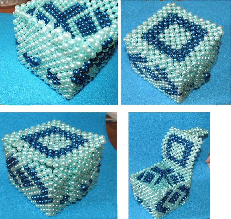 Как сделать шкатулку для бисера своими руками