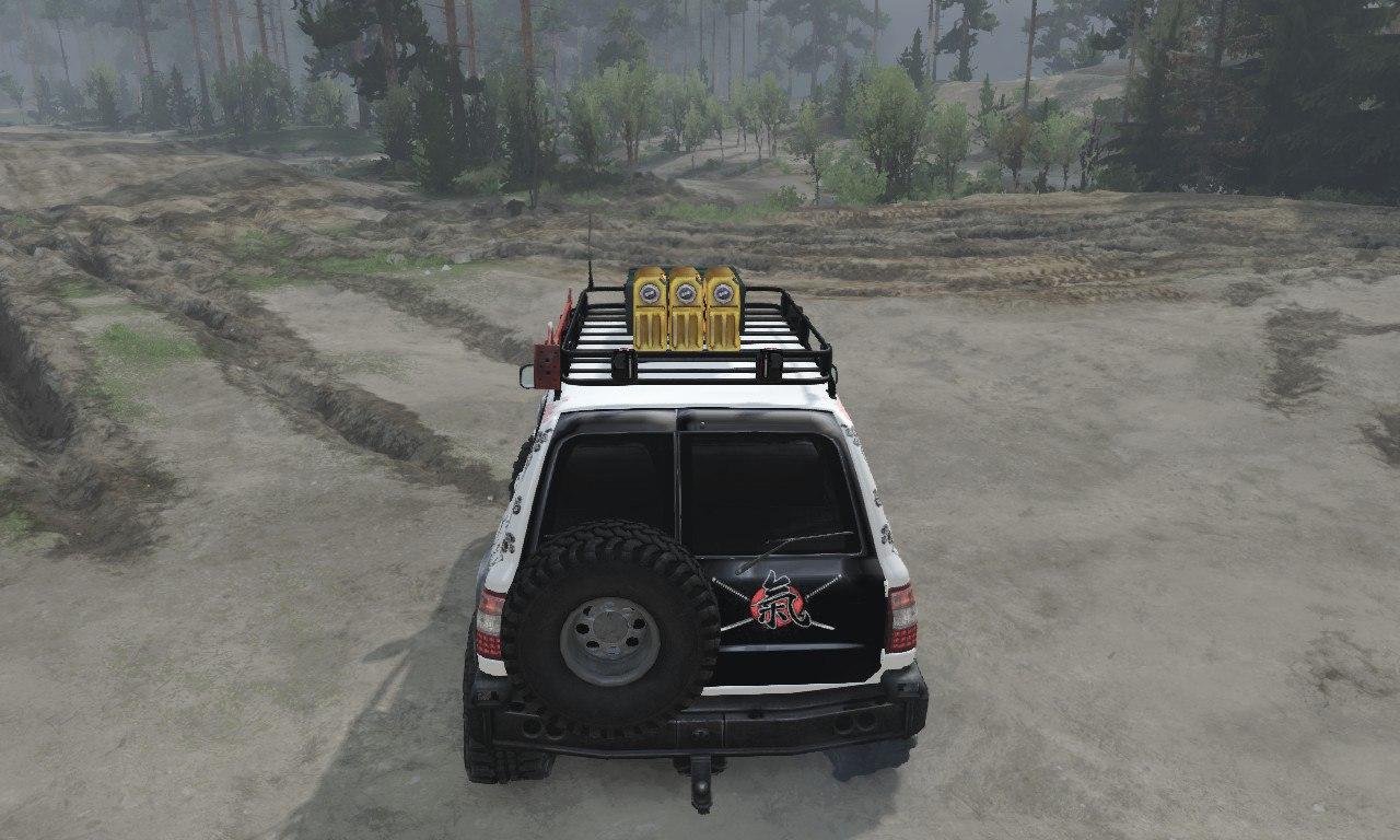 Toyota Land Cruiser «Samuray» для 03.03.16 для Spintires - Скриншот 3