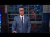 Colbert Mocks Melanias Jacket Was Womp Womp Your First Choice