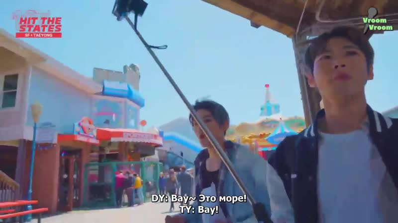 TAEYONG X SF Chilling Mukbang in PIER 39 (Feat. DY) NCT 127 HIT THE STATES~3