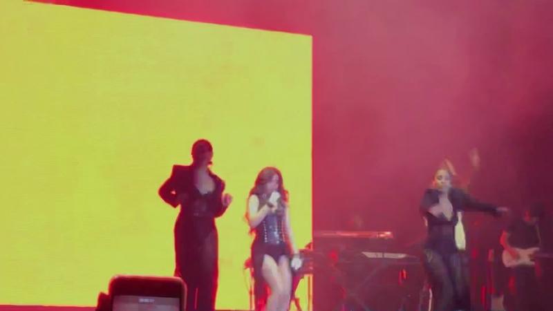 Camila Cabello Inside Out Live in Brazil São Paulo Allianz Parque