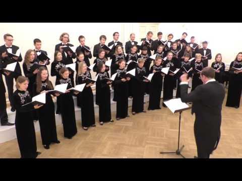 Сергей Слонимский - Поедем, поедем 24.05.2016 Хор Московской консерватории