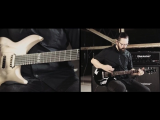 Emperor - The Loss And Curse Of Reverence (Ihsahn Aristides Guitar Playthrough)