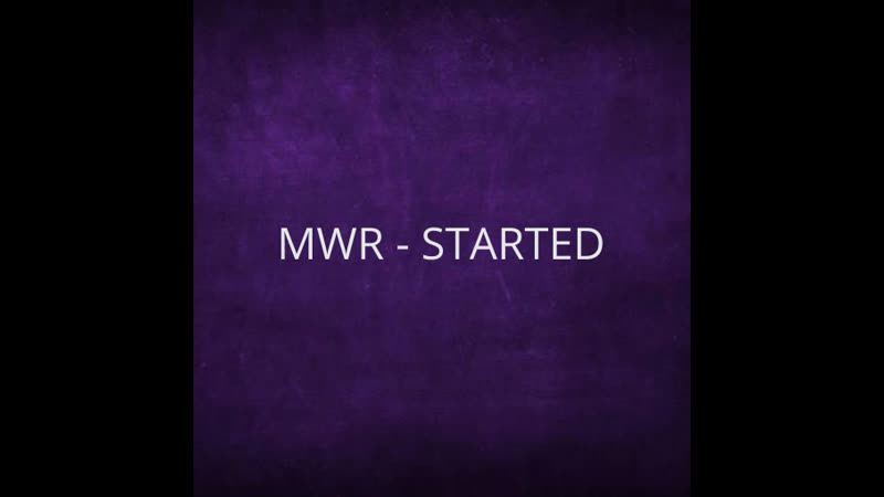 21.04.2019. MWR - GET STARTED [NEW]