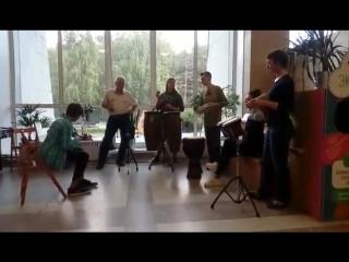 АкадемДжем. Семён Ткачук и Percussion.