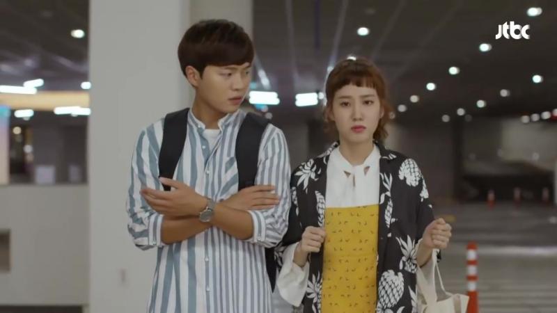 저돌적 박은빈♡눈 꼭 감은 손승원, 협조 좀 해봐_(부끄) 청춘시대2 3회