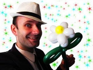 Ромашка из шариков шдм 2 аэродизайн цветы ★ flower from a balloon Daisy
