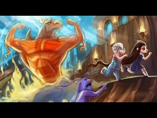 Магическая битва со злым драконом и завоевание сердца Астры