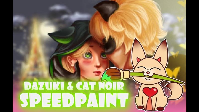SPEEDPAINT Dazuki Cat Noir Miraculous