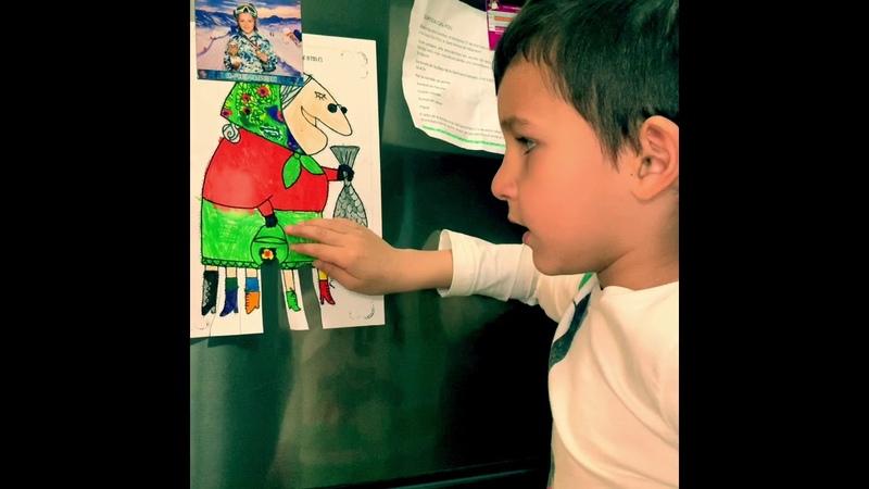 Дети Отмечают праздник La Vella Quaresma