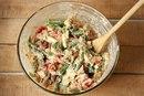 Салат с куриным филе и стручковой фасолью