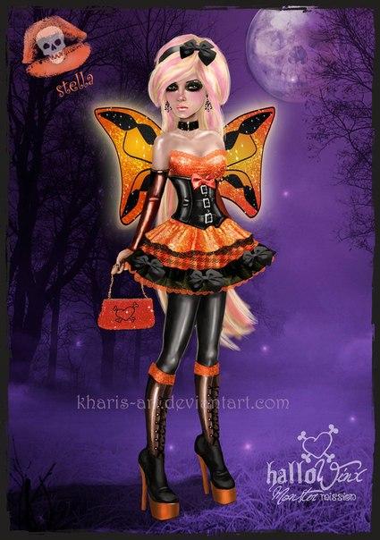 Игра Герои дисней гонки в Хэллоуин